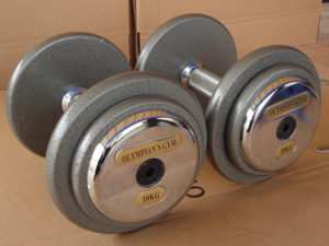 Cast Iron Dumbell