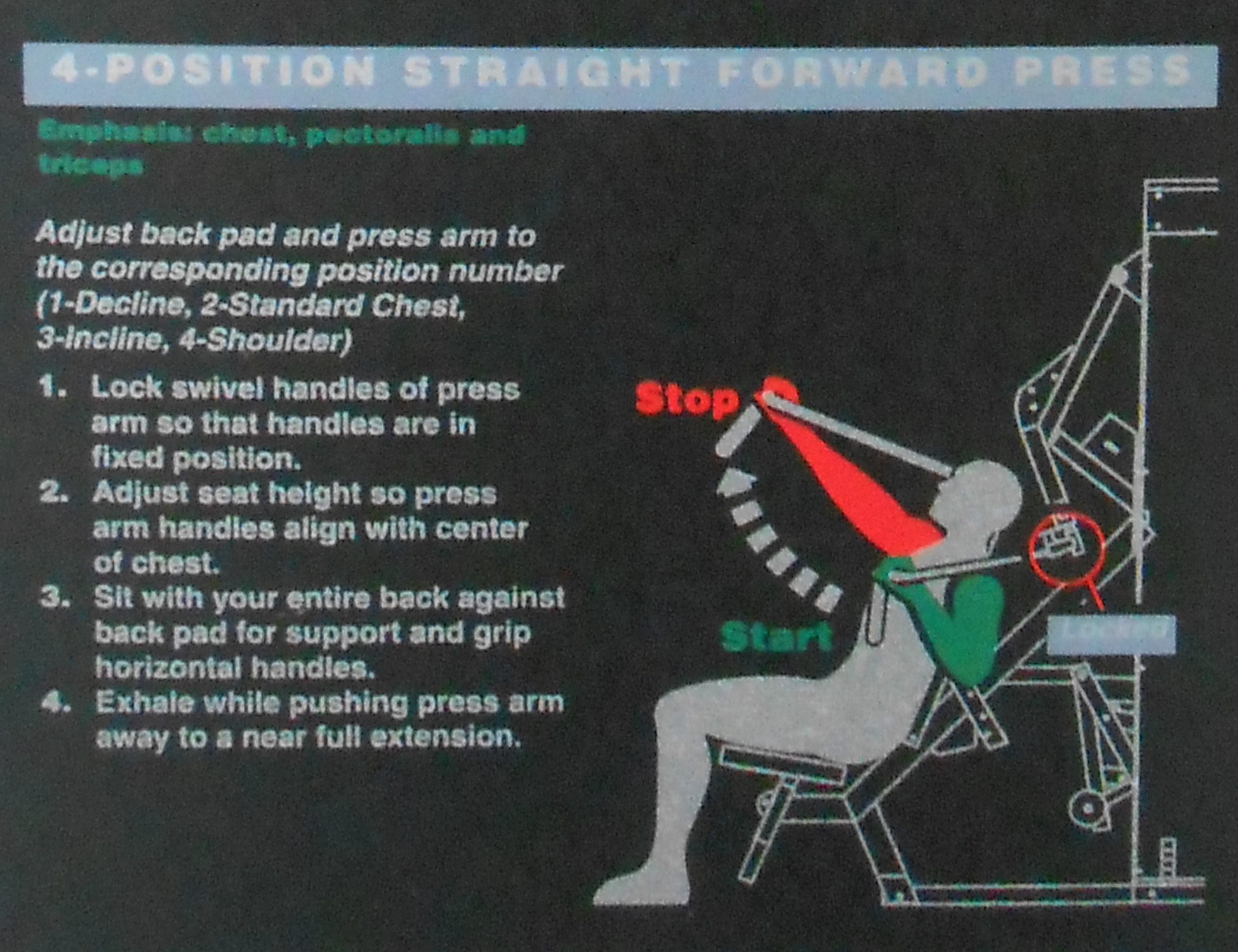 4-Position Straight Forward Press